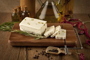 feta cheese concept photo
