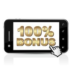 SMARTPHONE 100% BONUS