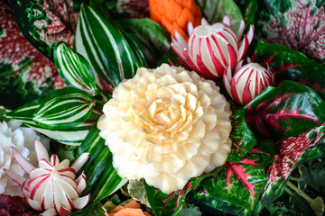 Thai Vegetable Carving