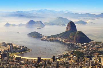 In de dag Rio de Janeiro Sugarloaf, Rio de Janeiro, Brazil