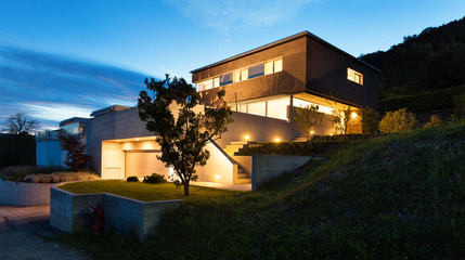 Architecture modern design, house Fotomurales