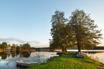 See Klockesjön-Ortschaft Ramkvilla-Südschweden