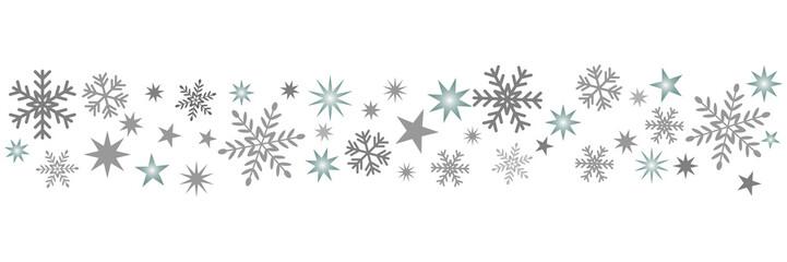 Schnee Muster
