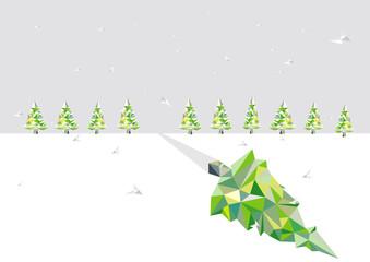 Weihnachtsbaum_Voronoi