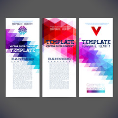 Set corporate identity kit or business kit