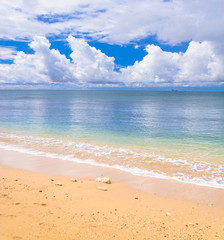 White Sand Serene Waters