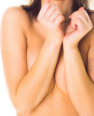 Tempting Female Nudity Closeup
