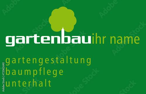 quotgartenbau logo mit hintergrundquot stock image and royalty