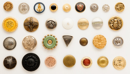 Collection of vintage buttons