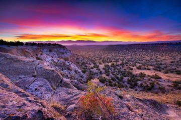 Foto op Canvas Snoeien Tsankawi Sunrise