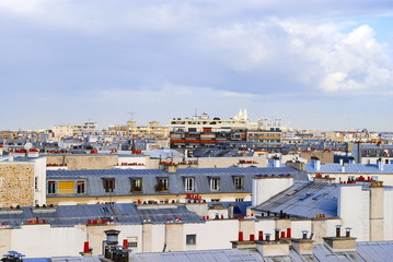 Skyline Roofs of Paris