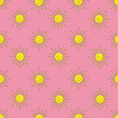 The background of the sun (pink)