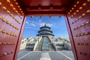 Fotobehang Beijing Temple of Heaven in Beijing, China