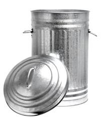 Aluminium Mülltonne