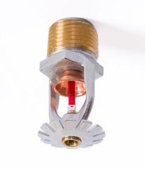 Fire sprinkler nozzle pendent fast response