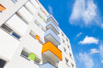 Hochhaussiedlung - Wohnung
