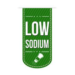Low sodium banner