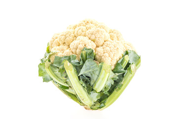 Cauliflowers isolated