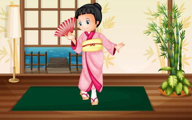 Japaness woman