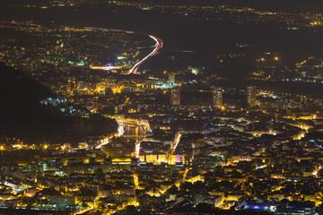 Grenoble la nuit