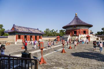 Foto op Aluminium Xian Beijing. Temple of Heaven, Vault of Heaven