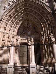 Puerta de los leones, Catedral de Toledo, España