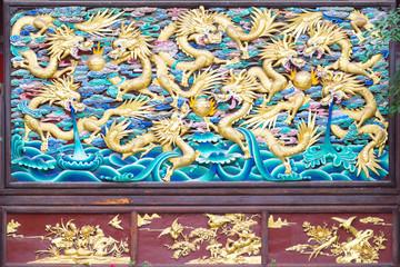 Wasserdrachen in Yuantong