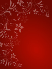 Floral,blatt,bläter,blüten,rahmen,rot,bordeaux,christmas