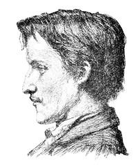 Portrait of Austrian writer Karl Meissner
