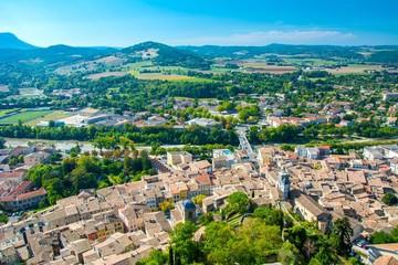Ville de Crest dans la Drôme
