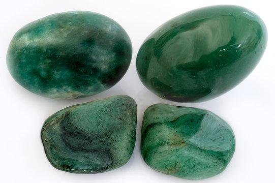 polished mineral beryl