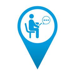 Icono localizacion usuario smartphone