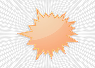 star burst icon abstract background