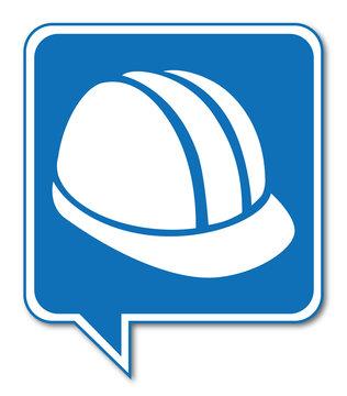 Logo port du casque obligatoire.