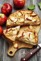 Apple pie. charlotte