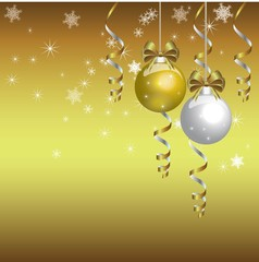 chrstmas gold background
