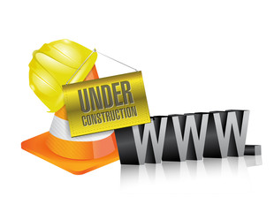 web under construction. www.