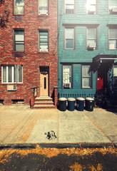 rue et maisons americaines