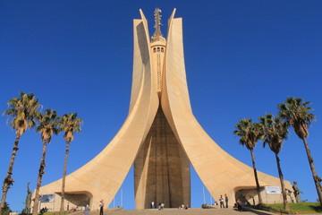 Tuinposter Algerije Mémorial du Martyr à Alger, Algérie
