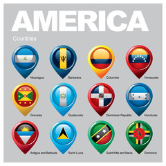 AMERICA Countries - Part Four