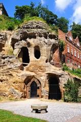 Castle mound caves, Nottingham © Arena Photo UK