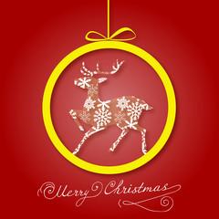 Vintage Christmas card  ornaments, Xmas card