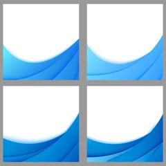 layered background