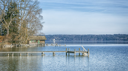 Starnberg Lake in Germany