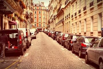 Paris street parking
