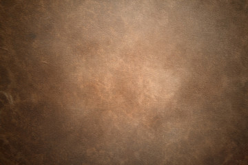 Foto auf Gartenposter Retro Old vintage brown leather background