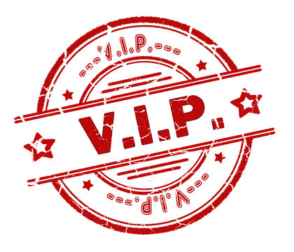 VIP stamp