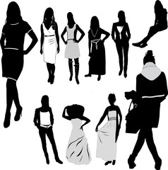 Woman Female Girl Fashion - vector