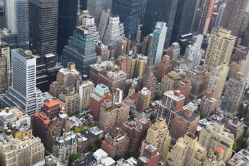 manhattan - New York - vu du ciel