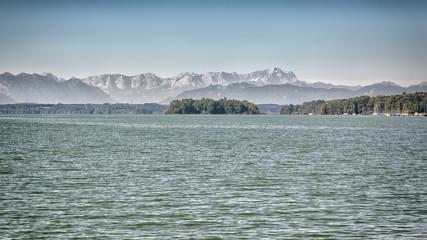 Starnberg Lake in Germany